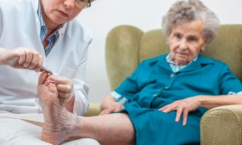 Looking Out for Your Elderly Loved One's Feet